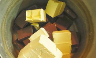 Шоколадный брауни с тыквой в мультиварке